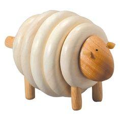 Lacing Sheep  #oompatoys #plantoys