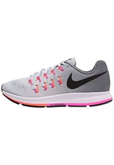 AIR ZOOM PEGASUS 33 - Chaussures de running neutres - grau/pink/orange