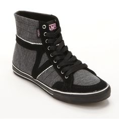 Vans Corrie High-Top Skate Shoes - Women ($39) ❤ liked on Polyvore