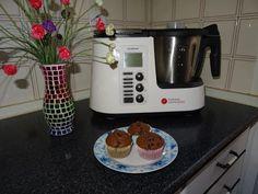 Receta de Muffins de Chocolate Monsieur Cuisine Plus Lidl Silvercrest - YouTube Lidl, Rice Cooker, Slow Cooker, Chocolate, No Cook Meals, Crock, Food And Drink, Cooking, Kitchen