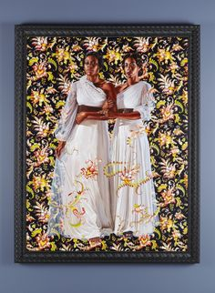 """I Wanted to Go to the Best"": A Q With Artist Kehinde Wiley on His Collaboration with Givenchy Designer Riccardo Tisci. Art previously at the SCAD Museum of Art."