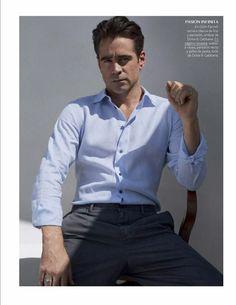 Colin Farrell para Vogue Hombre México Spring/Summer 2016