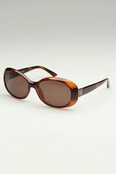 Fendi Dylan Sunglasses In Tortoise.