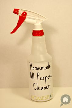 homemade all purpose cleaner--      -1/4 Cup of Baking Soda      -1/2 Cup of Vinegar      -2 Cups of Hot Water