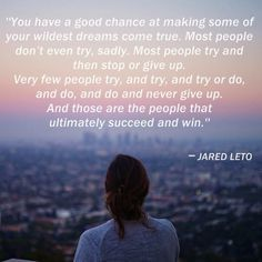 jared leto quotes on pinterest