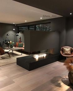 Modern dark home and decor ideas to Match Your Soul, You Must Try In 2020 - Page 16 of 75 - Life Tillage House Design, Modern Houses Interior, House Styles, Loft Design, Home Decor, House Interior, Home Decor Store, Home Interior Design, Home Decor Shops