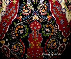 Tree of Life II - by So Jeo Katherine LeBlond from Persian Rugs Series Ukrainian Easter Egg Batik