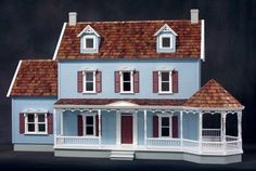 Maple Hill Dollhouse Kit