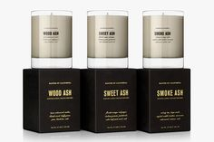Ash, Scented Candles by Baxter of California | Baxtton