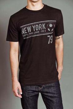 NYC Soccer S/S T-Shirt Black
