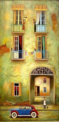 A Jurubeba Cultural: As criações do artista da Geórgia (de Tbilisi) David Martiashvili (1978)