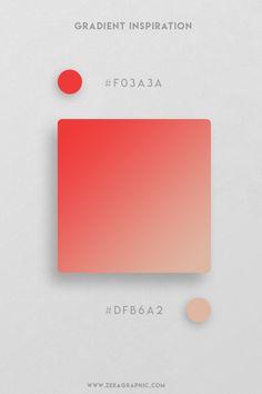 32 Beautiful and unique color gradient inspiration for your next Graphic Design, Web Design, UI/UX Design projects, discover the best Color Design. Flat Color Palette, Colour Pallete, Color Schemes, Color Palettes, Graphic Design Lessons, Graphic Design Projects, Graphic Design Inspiration, Graph Design, Web Design