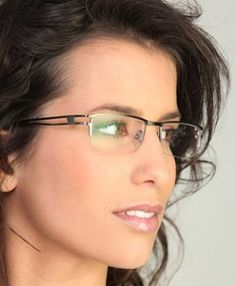 df37941d6c55 Semi Rimless Frames · undefined Fashion Eye Glasses, Womens Glasses Frames, Eyeglasses  Frames For Women, Ladies Glasses