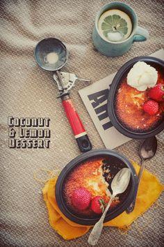Coconut + Lemon Syrup Cake, photo: Paulina Kolondra, recipe: Donna Hay http://www.donnahay.com.au/recipes/sweets/cakes/coconut-and-lemon-syrup-cake