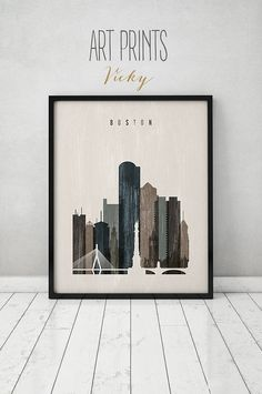 Boston wall art, Boston skyline, print, distressed poster, travel decor, Massachusetts, City print, Wall decor, Home Decor, ArtPrintsVicky IMPORTANT NOTE: ►Frame is not included. SIZES: ►Available sizes are shown in the button SIZE drop down menu above the ADD TO CART button. QUALITY AND DETAILS: ►Paper: EPSON Premium Glossy or Semigloss Photo Paper Best 5 stars in 251 or 255gr. ►Ink: Epson archival professional ink for colorful, vibrant prints that are water & fade-resistant ►Posters ...