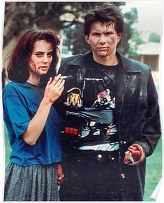 jd and veronica - heathers Poster Christian Slater Heathers, Heathers The Musical, Cult Movies, 80s Movies, Domestic Violence, My Boyfriend, School Fun, Musical Tickets, Learn To Fly