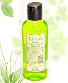 KHADI  Neem  Tulsi Face  Body Wash  210ml >>> Want additional info? Click on the image.