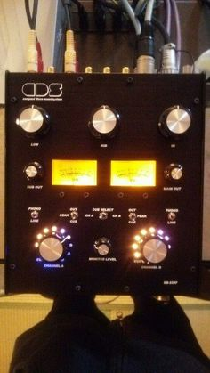 Compact Disco Soundsystem DS-223P - 2 channel with 3 band master isolator