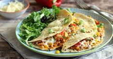 Quesadilla, Tacos, Mexican, Meat, Chicken, Ethnic Recipes, Food, Red Peppers, Quesadillas