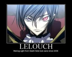 Code geass and death note jokes