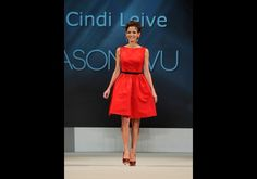 Cindi Leive (Editor-in-chief of Glamour magazine) in Jason Wu - The Heart Truth's Red Dress Collection 2012 Fashion Show
