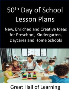 Over 50 pages of new, creative and enriched ideas for pre-school, kindergarten, daycares and homeschools. Circle time: Songs and group activities to do with the childrenCrafts: Process and product orientated craftsMath ideas: Counting, estimating and addition Number identification and values One pag... Fun Fall Activities, Literacy Activities, Love Teacher, Teacher Pay Teachers, Pre School, Back To School, Curriculum, Homeschool, Easy Art Lessons