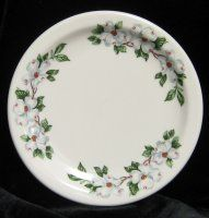 1920 China Patterns | Dogwood Pattern Syracuse China Dessert Plates circa 1920's. I have one of these somewhere.