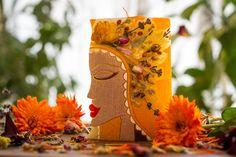Recyclé de bougie Art Figurine décor folklorique par GiftForFire