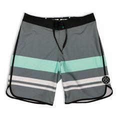 Wedge Boardshorts- Grey