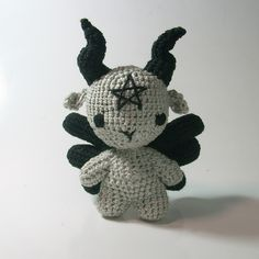 Lucifer / Devil / Baphomet crochet / amigurumi chibi