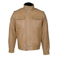Two Flap-Closure Tailored Fit Top Grain Leather Jacket-For Man-karizmamoto Brown Fashion, Mens Fashion, Fashion Trends, Motorcycle Jacket, Military Jacket, Biker, Leather Men, Leather Jackets, Premier Designs