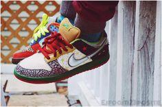 Nike SB Dunk Low 'What The Dunk' (by john_thunder) Custom Sneakers, Shoes Sneakers, Sneaker Art, Sneaker Release, Nike Shoes Outlet, Nike Sb Dunks, Beagles, Dunk Low, Mortal Kombat