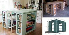 Wonderful Diy Perfect Craft Table