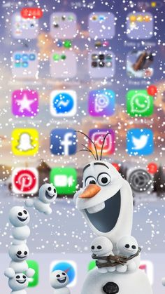 iphone lockscreen Frozen Wallpaper For You Phone Emoji Wallpaper Iphone, Disney Phone Wallpaper, Iphone Background Wallpaper, Galaxy Wallpaper, Cool Wallpaper, Wallpaper Wallpapers, Iphone Wallpapers, Cute Cartoon Wallpapers, Pretty Wallpapers