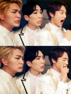 Onew Key Minho ,.......xd face