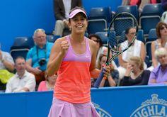 Michelle Larcher de Brito Stuns defending champion Ana Ivanovic in Birmingham. Read about it at Tennis Now.