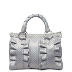 Lola Satchel Gray Dottie I just received this bag this weekend, and it's GORGEOUS!