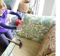 Home-Dzine - How to reupholster a sofa or couch