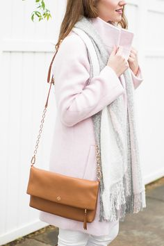 Since the winter months after the holidays can get dreary and dark, today I'm sharing how to cheer up your winter wardrobe with spring hues! | winter style tips | winter fashion ideas | fashion tips for winter | style ideas for winter | cold weather fashion || a lonestar state of southern