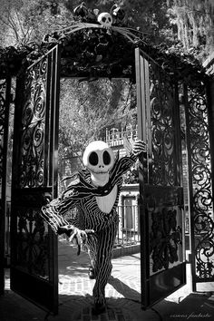 Jack Skellington at The Haunted Mansion