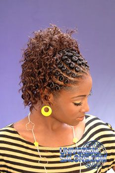 Looking for the latest trends in hairstyles? Do you want to know what styles and cuts will look best for you? Braided Mohawk Hairstyles, Black Hair Updo Hairstyles, Flat Twist Hairstyles, Natural Afro Hairstyles, African Braids Hairstyles, Black Girls Hairstyles, Protective Hairstyles, Virtual Hairstyles, Hairstyles Pictures