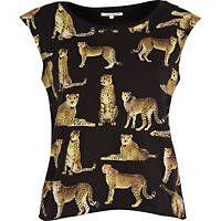 my new leopard print t-shirt