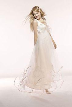 Ma robe de mariée si je suis grande