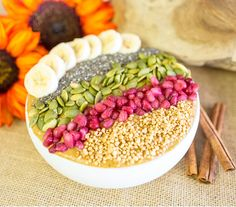 PUMPKIN PIE SMOOTHIE BOWL! http://toneitup.com/2015/10/pumpkin-pie-smoothie-bowl/