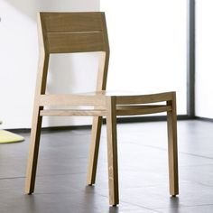 Ethnicraft Oak Dining Chair EX1 #4livinguk