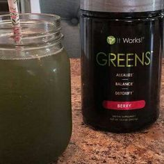 Getting my Greens in this morning!! I try my best to eat healthy but with a busy lifestyle its not always easy so Im happy I can get all the healthy goodness I need in one simple drink!! #gettingmygreenson #vitaminsandminerals #alldayenergy #healthybodyhealthymind  Campbells.itworks.com