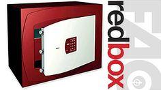 Nuevas cajas fuertes Red Box de Fac Seguridad. La unión del diseño y la calidad en la seguridad doméstica. #cajafuerte #seguridad #redbox