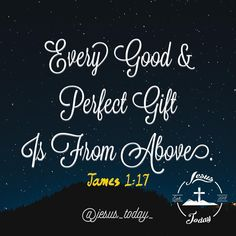 #bible Bible Quotes, Bible Verses, Me Quotes, Jesus Bible, God Jesus, James 1 17, Jesus Today, Jesus Freak, Verse Of The Day