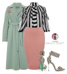 """""""Untitled #2759"""" by stylebydnicole ❤ liked on Polyvore featuring Rochas, Givenchy, Chanel and Ted Baker"""