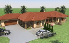 Fotka: Beautiful House Plans, Beautiful Homes, Wood Architecture, Entrance, Tropical, Farmhouse, House Design, Building, Outdoor Decor